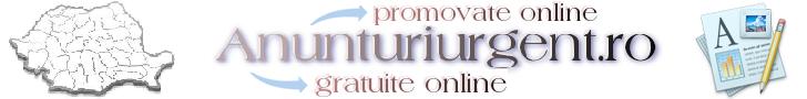 Anunturi Urgent Online - Anunturi Online Gratuit